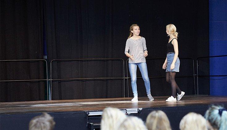 Dans på Viby Efterskole